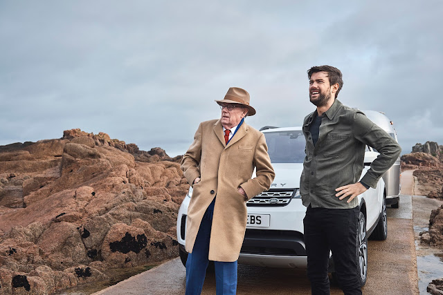 Jack Whitehall Tries Out Land Rover s Advanced Tow Tech with His Father