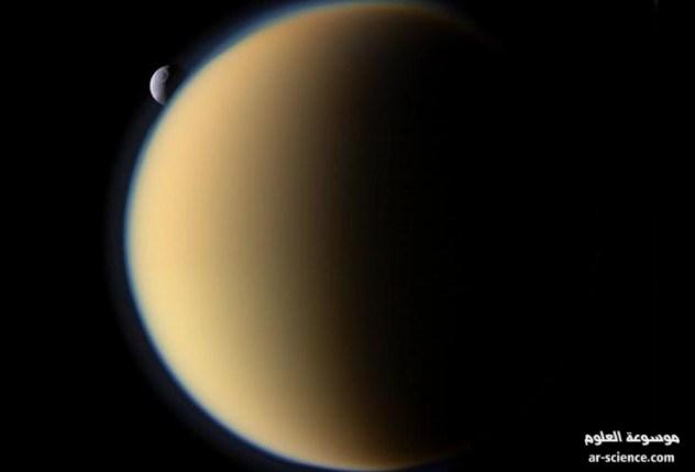 القمر تيتان , اقمار زحل, امطار البنزين, حقول الميثان
