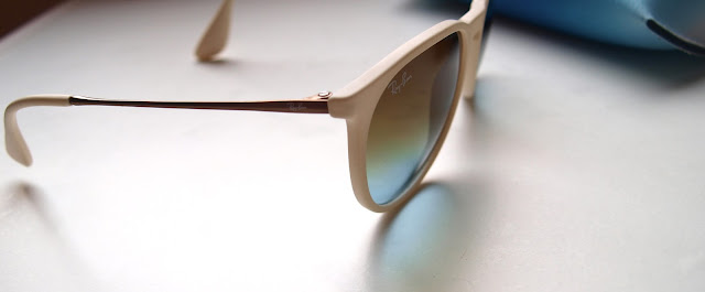ray ban sonnenbrille weiße bügel