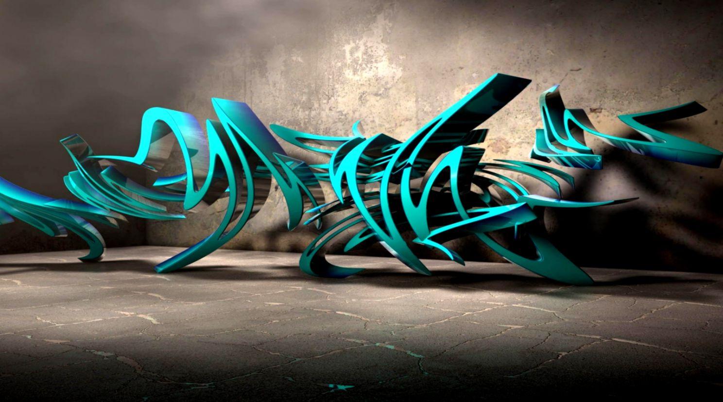 3D Cool Graffiti Hd | Wallpaper Background HD