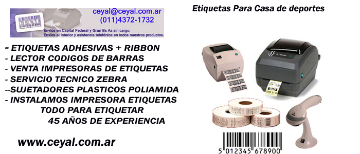 etiquetas adhesivas vestuario profesional Arg. Bs.As.