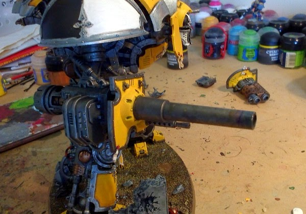 WIP IK Paladin - battle cannon