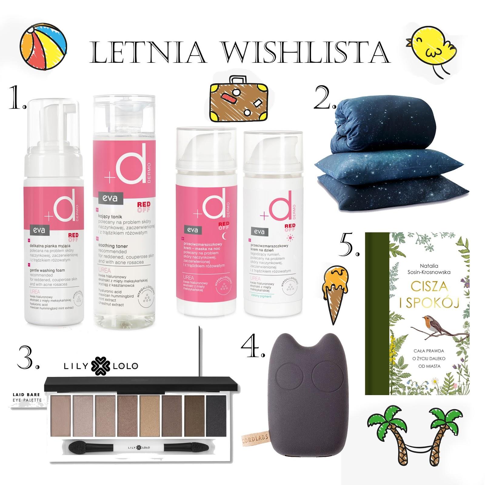 Letnia wishlista - Pollena Eva, Foonka, Lily Lolo, Cordlabs, Wydawnictwo Czarna Owca