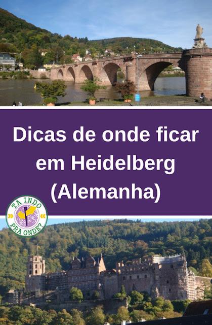 Onde ficar em Heidelberg (Alemanha)?