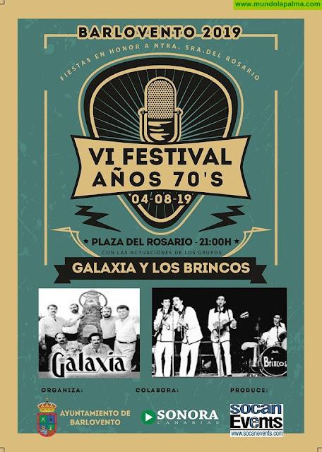 VI Festival Años 70 en Barlovento 2019