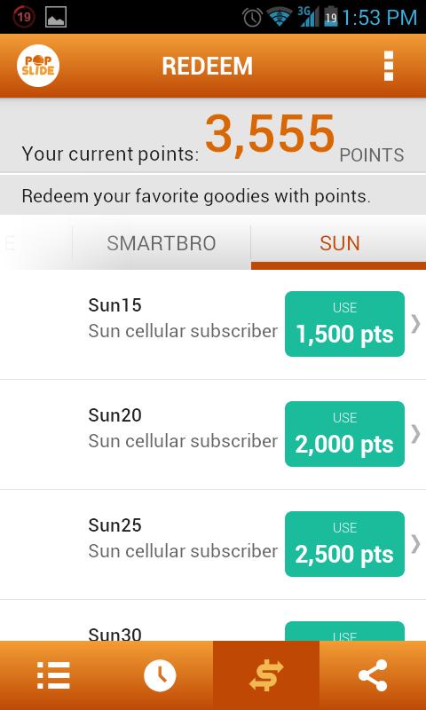 POPSLIDE:Get FREE LOAD (Globe,Sun,Smart and Smartbro)