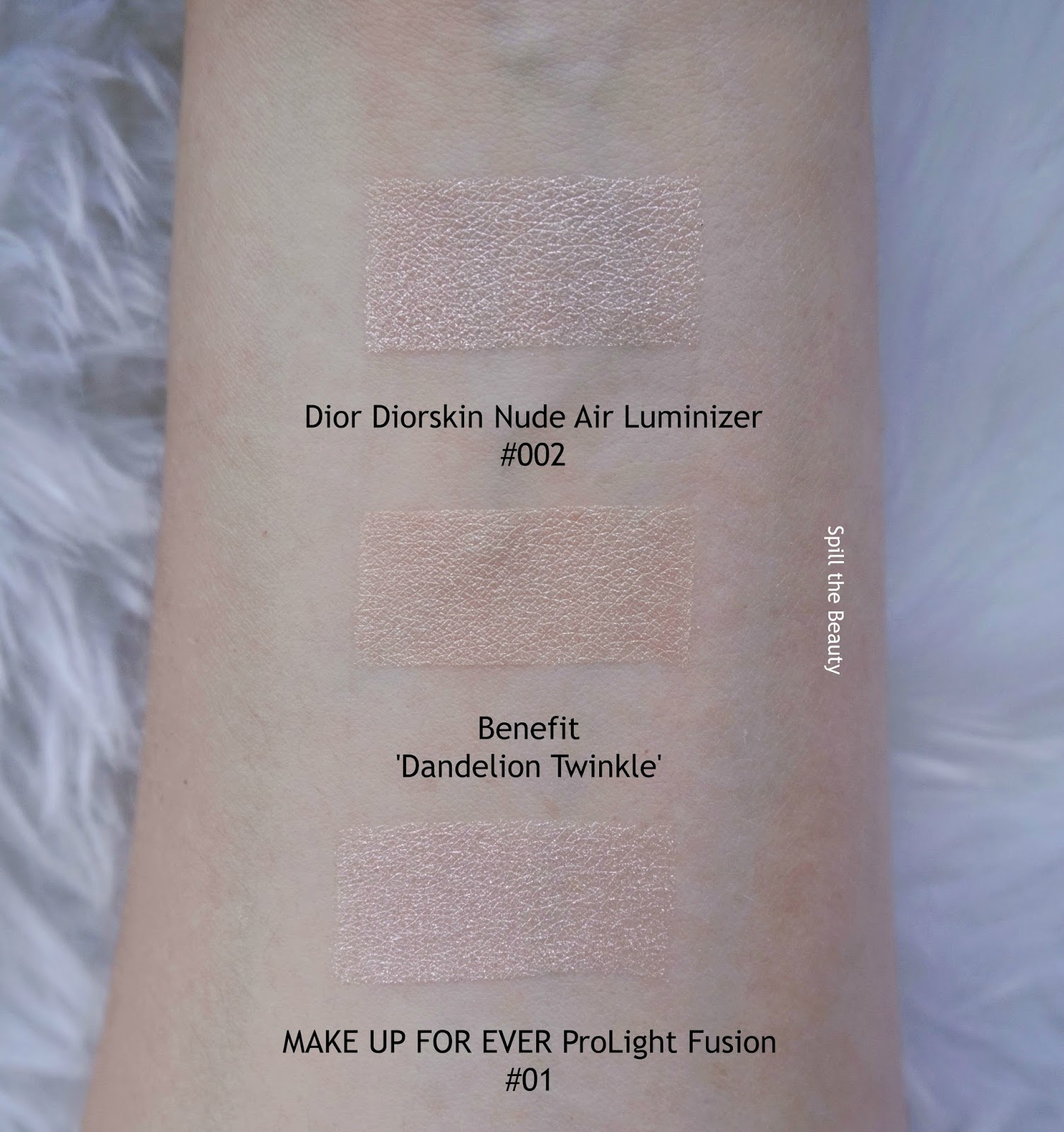 Benefit 'Dandelion Twinkle' Highlighter - Review, Swatches, and Look ...
