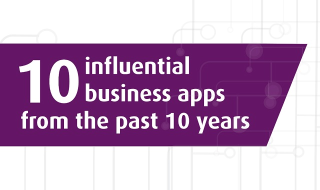 10 influential business apps from the past 10 years