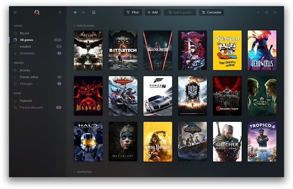 Peluncur GOG Galaxy 2.0 bertujuan untuk membawa game dari semua platform ke satu tempat