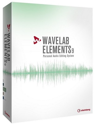 Steinberg WaveLab Elements 9.0.30 poster box cover