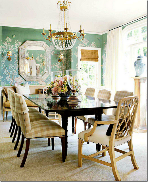 Chinoiserie Chic The Chinoiserie Dining Room