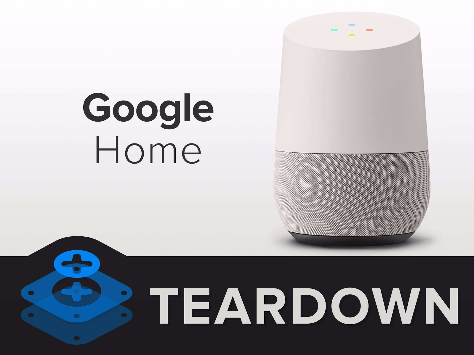 iFixit's Google Home Teardown Reveals Chromecast Internals And Lots Glue
