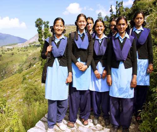 الزي المدرسي في الهند