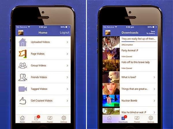 تحميل أي فيديو على الفيس بوك على هواتف الاندرويد، ويندوز فون, وايفون بسهولة