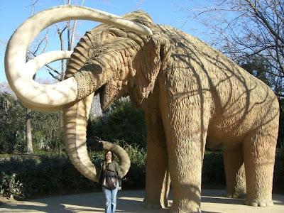Mamut in Ciutadella Park in Barcelona
