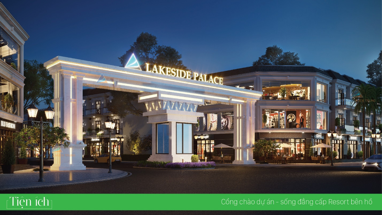 Những tiện ích hàng đầu tại dự án Lakeside Palace Đà Nẵng