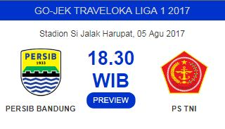 Tiket Persib vs PS TNI Bisa Dibeli Langsung di Stadion SJH Sabtu