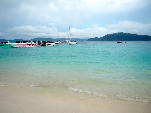 Beach on Coral Island, Phuket, Thailand
