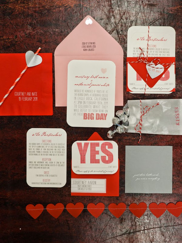 Red Wedding Invitations Elegance Personified