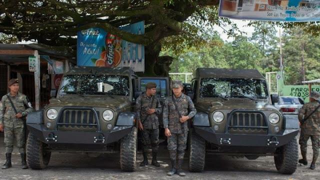 EEUU suspende ayuda militar a Guatemala por mal uso de equipos