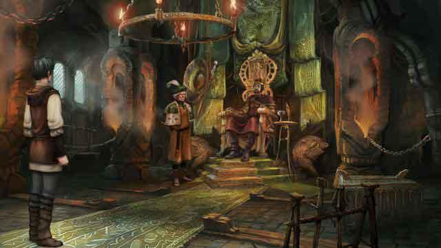 Screen Shot Of The Dark Eye Chains of Satinav (2012) Full PC Game Free Download At worldofree.co