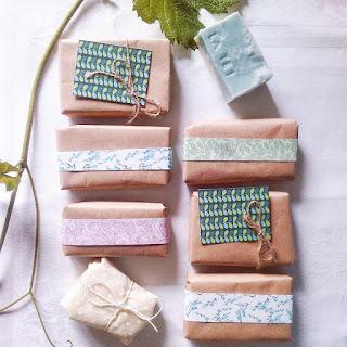 Confezione dei saponi artigianali La TEI
