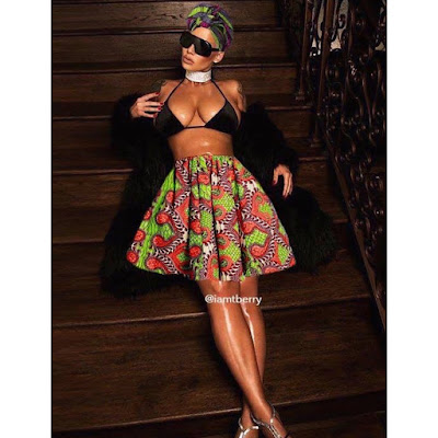 Amber rose, amberroseslutwalk, #amberrosechallenge, #amberroseslutwalk,Amber rose poses nude, amber rose bush, bush, slutwalk, slut, kim kardashian, kanye west, where is kanye west, sophie david mbamara, domestico, blog, nigerian blogger, #nigeria, nigeria, african print, coverupamber, #coverupamber, social media covers amber rose, amber rose wears african prints, nigerian designers, lagos, bellanaija, laughnaija, instablog9ja, joromofin,