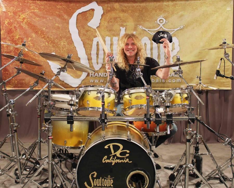 The legendary drummer mr steven popcorn adler the for Stufe adler