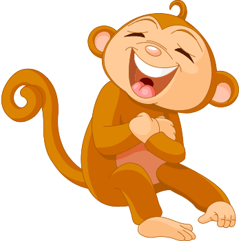 Laughing monkey emoji