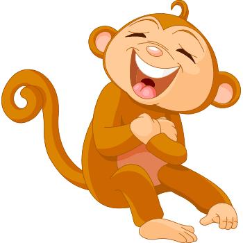 Laughing monkey emoji