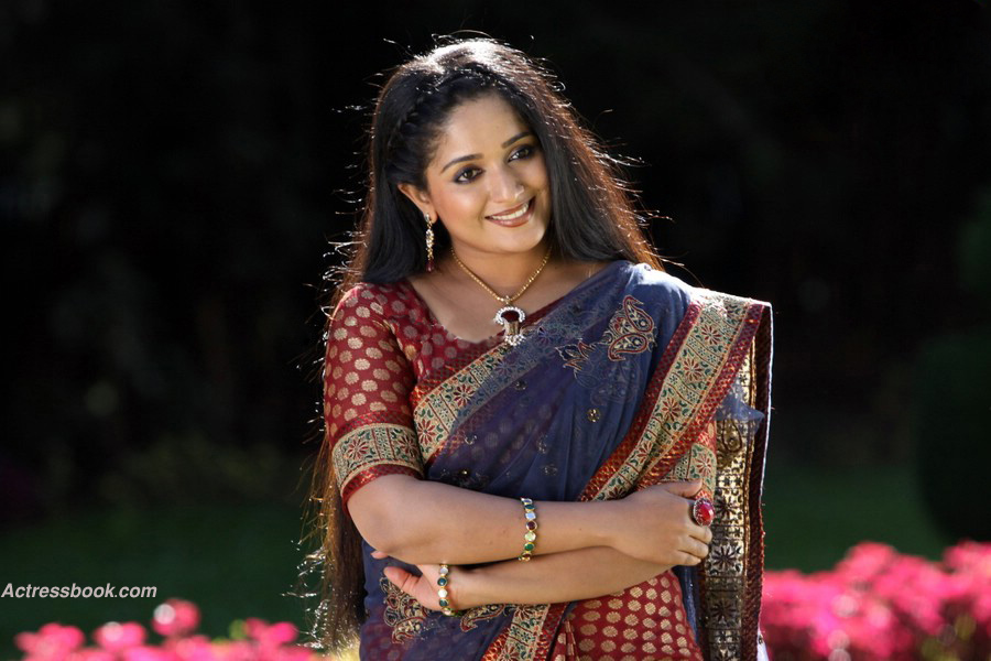 Kavya Madhavan Mollywood Actress Latest Hot Saree Navel