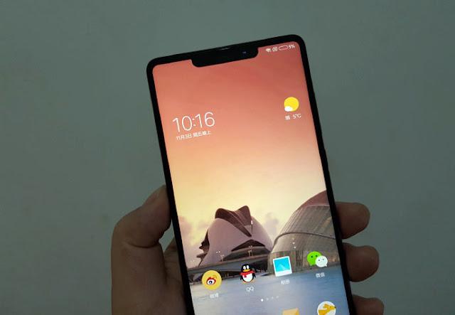 Xiaomi Mi MIX 2s Ini Mirip iPhone X