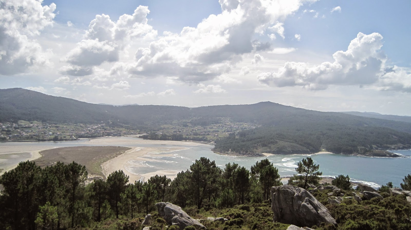 Mirador de Monte Blanco en Ponteceso