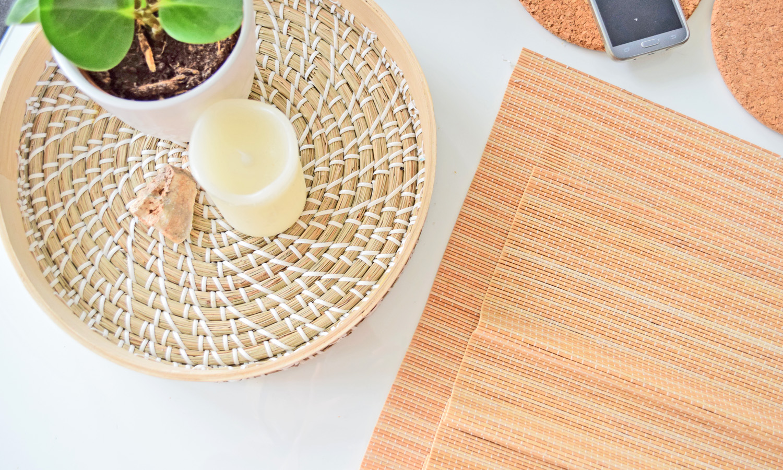 akcesoria zrobione z bambusa