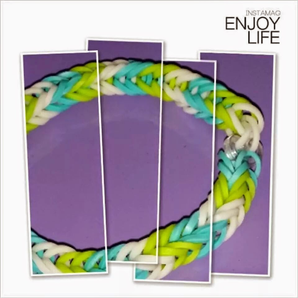 Kiamoy Thoughts The Colors Of Loom Bands
