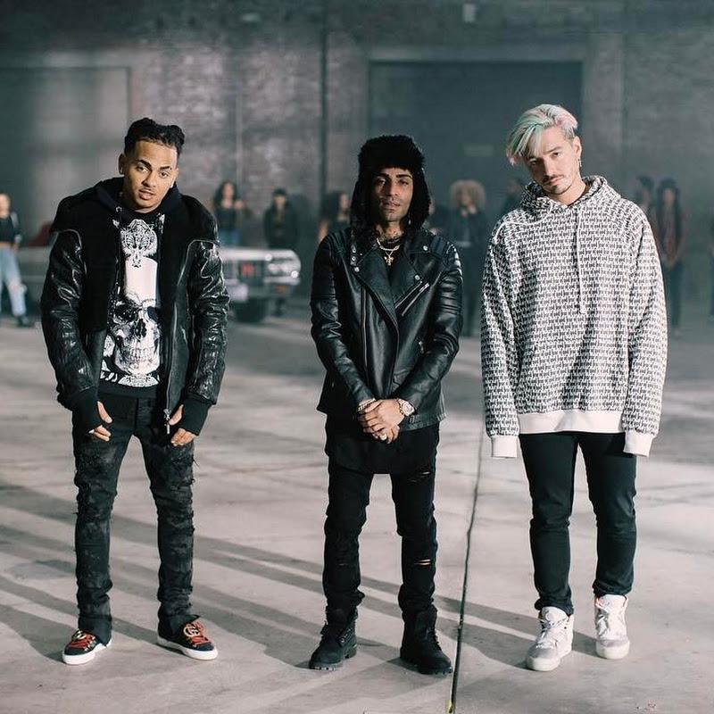 J Balvin, Ozuna y Arcángel filman video musical en NY