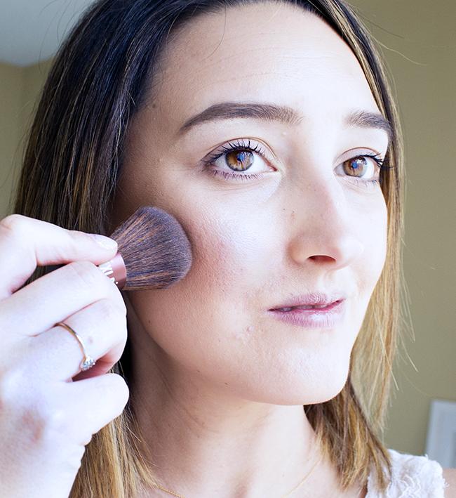 Pixi Beauty Blush Duo with Kabuki Brush for Glowing Skin