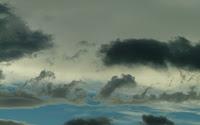 nubes como olas