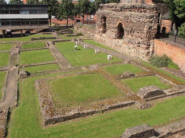 Resti romani a Leicester