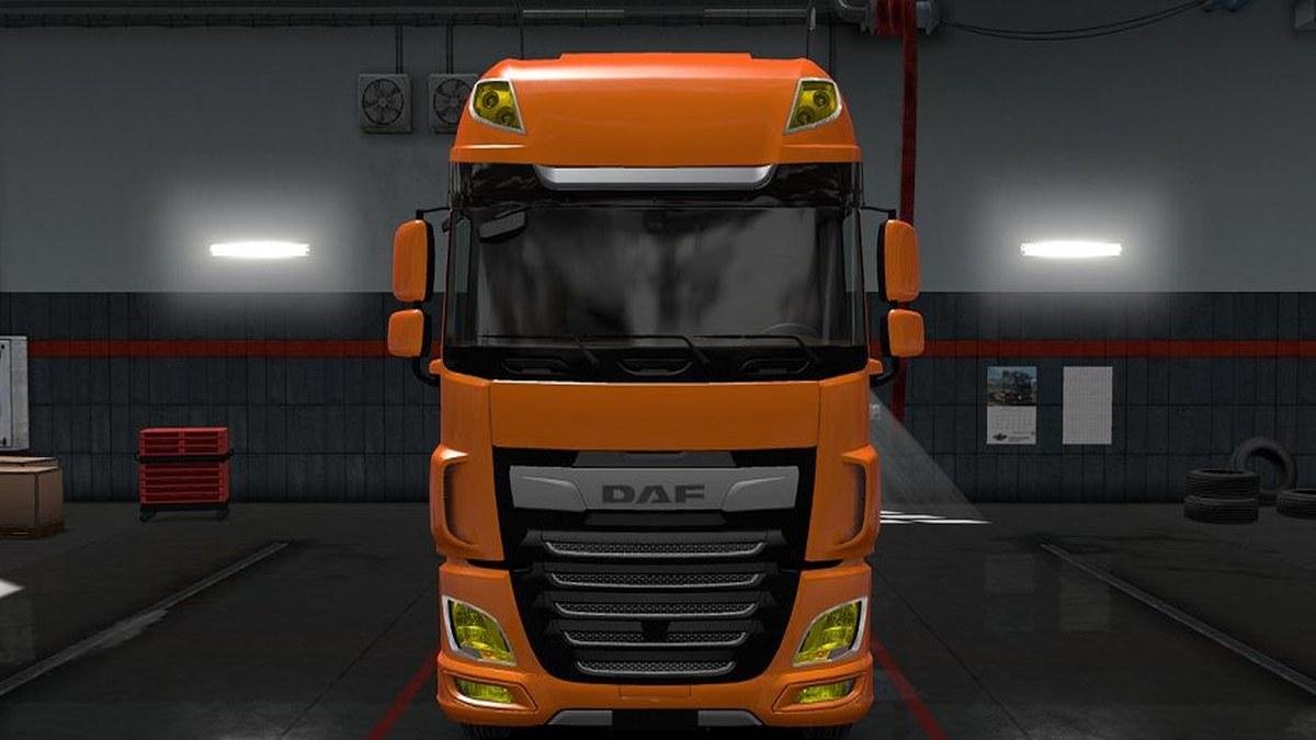 Yellow Lights for DAF E6