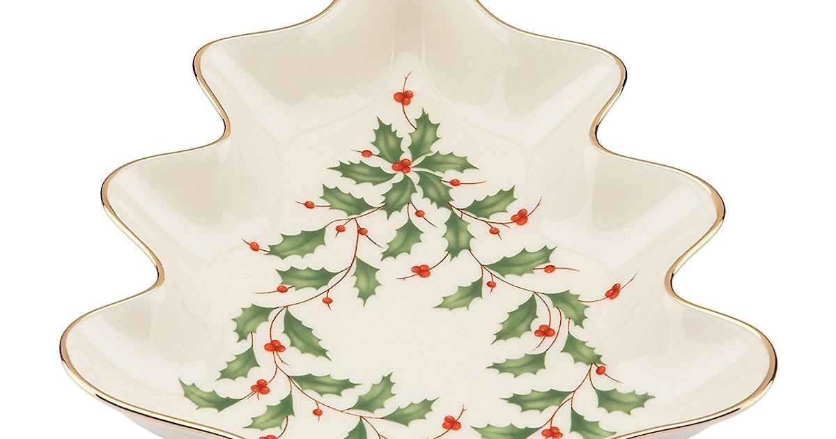 Lenox Holiday Christmas Tree Dishes