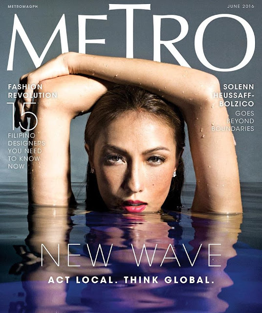 Solenn Heussaff Metro Magazine June 2016 issue