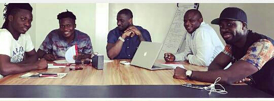 Photos: Peter Of PSquare Signs New Artiste To PClassic
