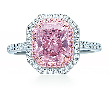 80bd10985b22 Tiffany   Co Fancy Purplish Pink Diamond Ring  650