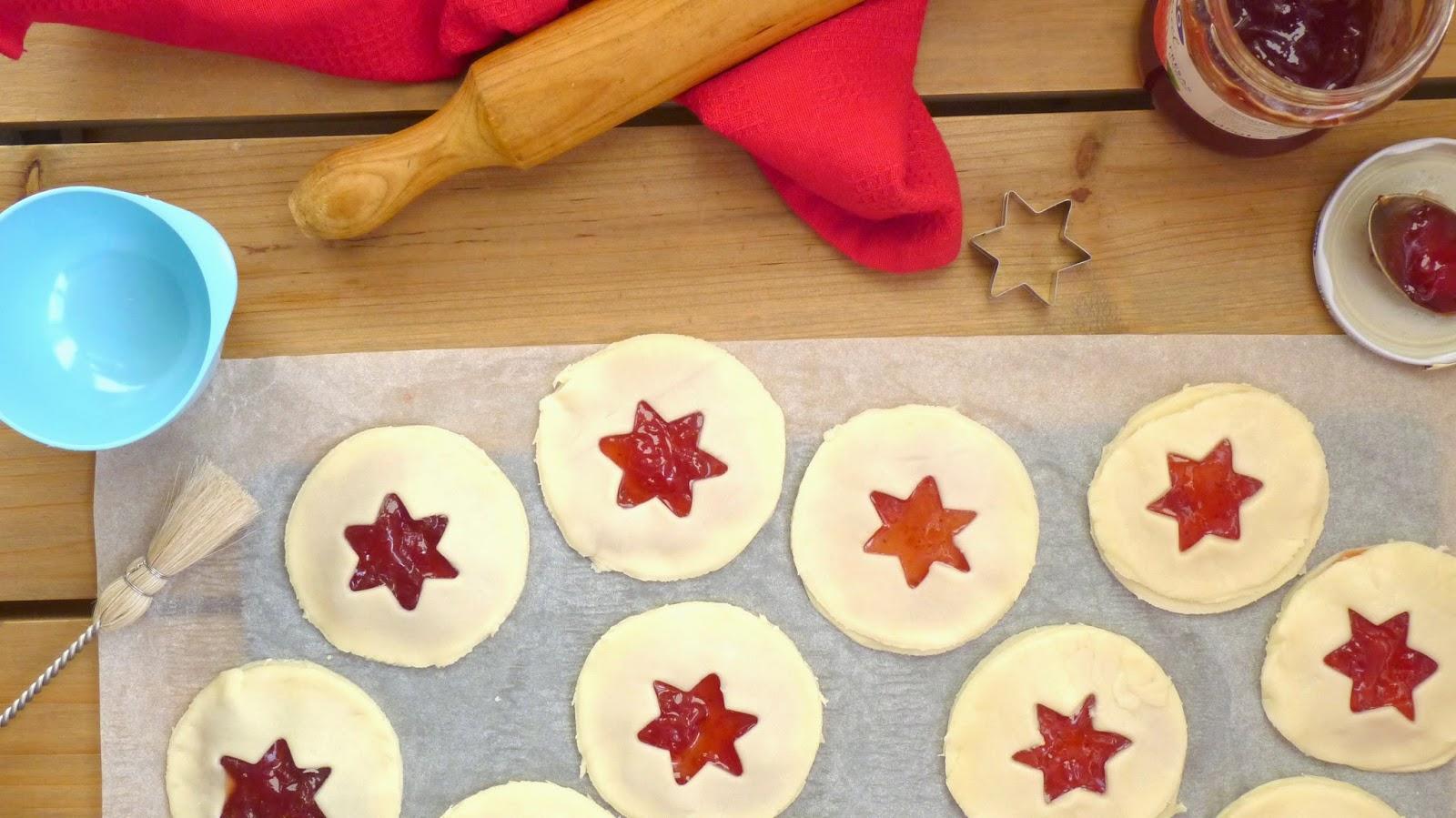 galletas navideñas de mermelada