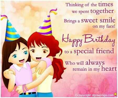 birthday greetings for friend