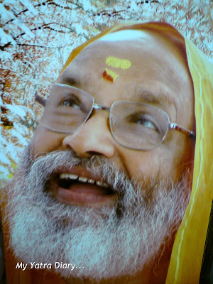 Swami Dayananda Saraswati of the Dayananda Ashram in Rishikesh