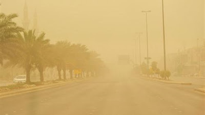 تحذير هام من الأرصاد: رياح مثيرة للرمال والأتربة على القاهرة والوجه البحري