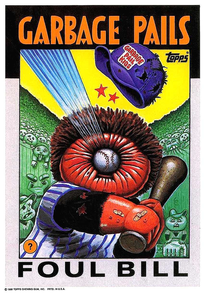 Art Spiegelman's Garbage Pail Kids trading cards for Topps inc.