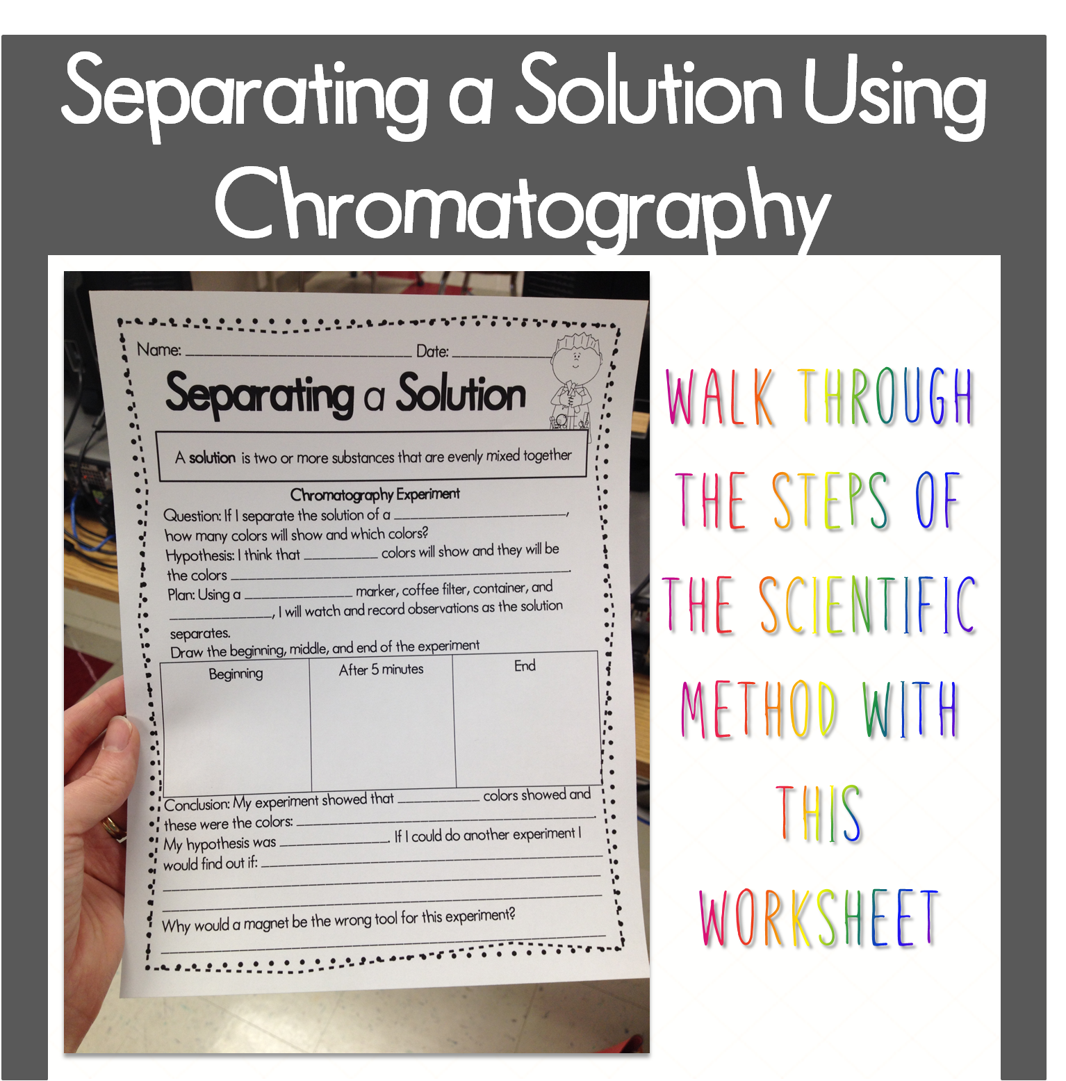 medium resolution of Experiment Data Worksheet   Printable Worksheets and Activities for  Teachers
